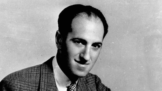 Portrait von George Gershwin.