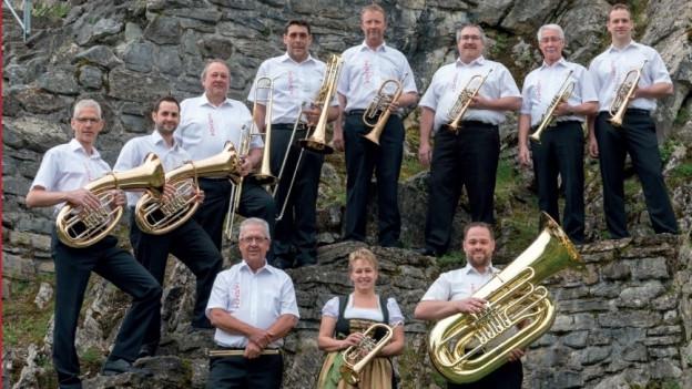 Mit «Unter der Burg» präsentiert die Berner Blaskapelle Venovana bereits ihre zweite CD.
