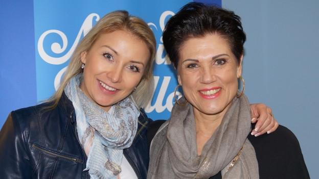 Anna-Carina Woitschack und Maja Brunner.