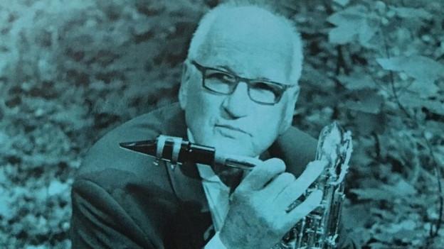 Ausschnitt CD Cover mit Wilfried Aegerter.