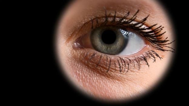 Auge im Fokus.