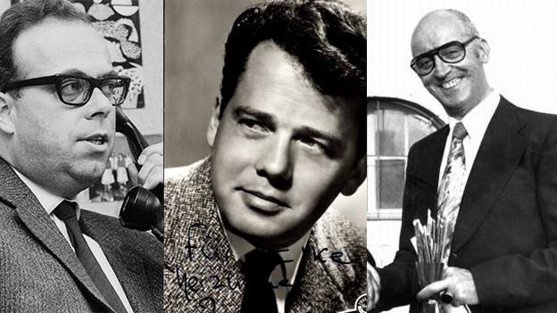 Collage der drei Künstler.