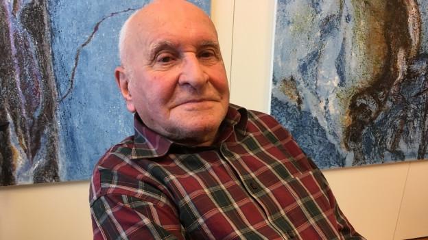 Portrait von Heinz Wetzel.