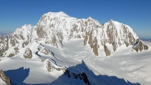 Der Mont Blanc.