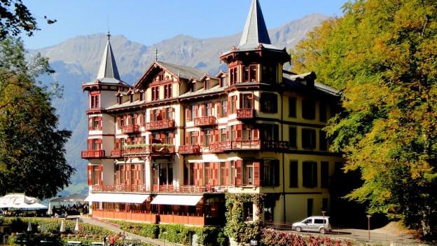 Das Grandhotel Giessbach.