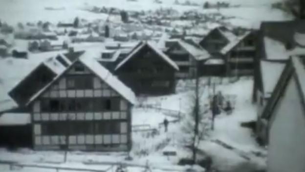 Die Häuser des Pestalozzidorfes in Trogen.