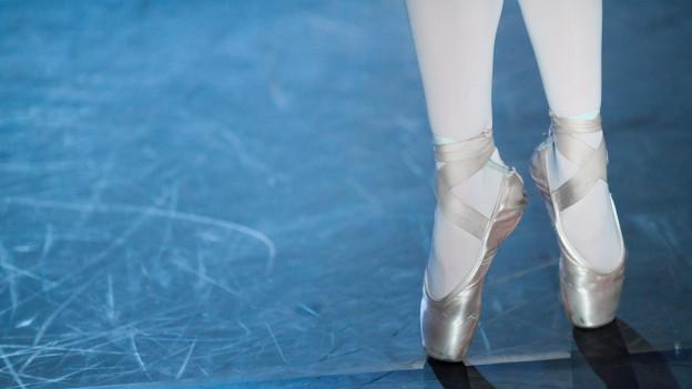 Ballerinas einer Ballett-Tänzerin.
