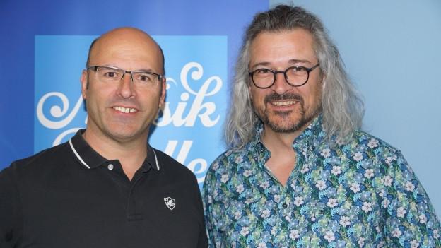 Peter Gisler links und Dani Häusler rechts.