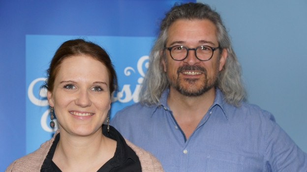 Lea Pfister Scherer und Dani Häusler.