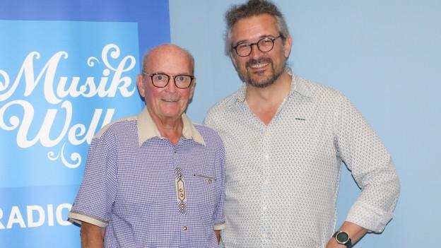 Sepp Trütsch und Dani Häusler.