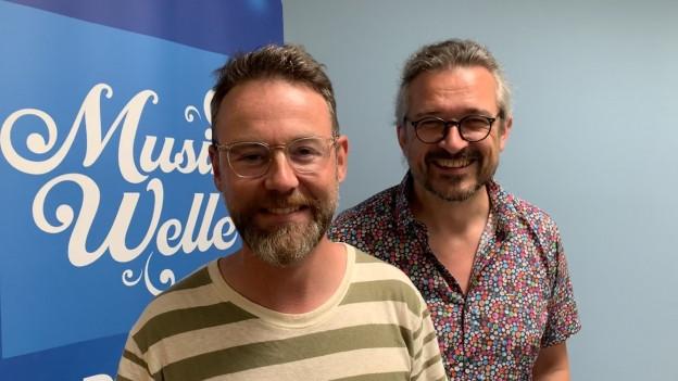Nik Hartmann und Dani Häusler.