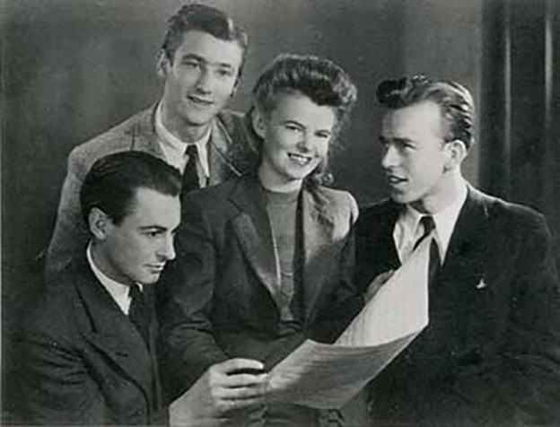 Artur Beul mit dem Trio Schmid 1942.