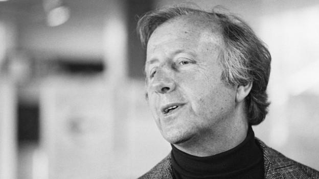 Porträt von Georg Shearing.