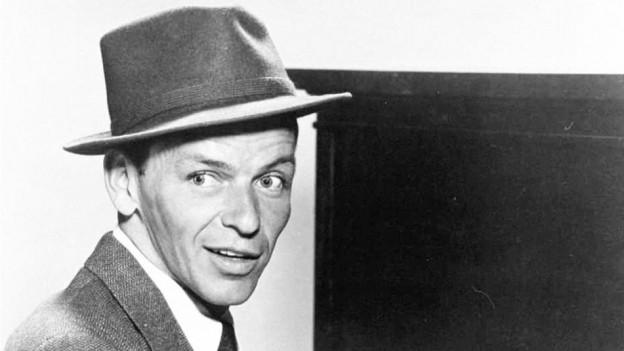 Porträt von Frank Sinatra.