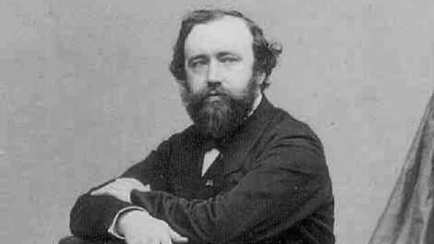 Der Instrumentenbauer und Erfinder Adolphe Sax (Aufnahme aus den 1850er-Jahren).