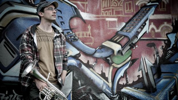 Julien Roh. Die Idee, ein Es-Horn-Festival auf die Beine zu stellen, trägt er schon lange mit sich herum.