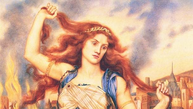 In der griechischen Mythologie hat Cassandra die Trojaner vor dem Trojanischen Pferd gewarnt. Ihre Warnung blieb jedoch ungehört, so dass Troja unterging.