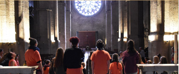 Chor in Kirche.