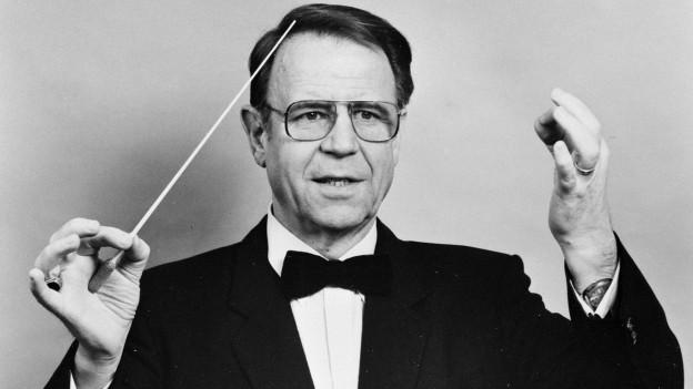 Otto Aebi gründete 1971 das Blasorchester Alpina.