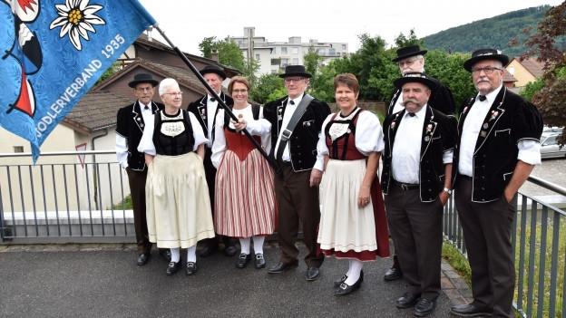 Mitglieder vom OK Jodlerfest.
