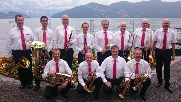 Ewald Benz (rechts aussen) hat die neue CD mit Musikern aus der Schweiz und Österreich eingespielt.