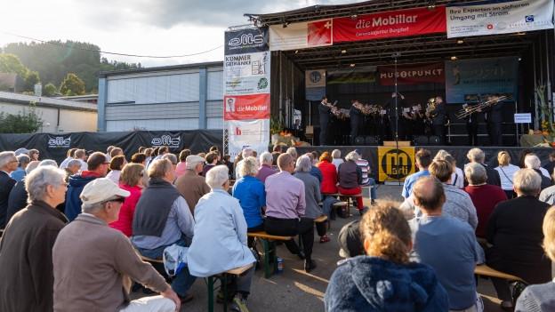 Blasmusik unter freiem Himmel: Vorbild für den «Emmental March Contest» sind die «Whit Friday» Wettbewerbe in England.