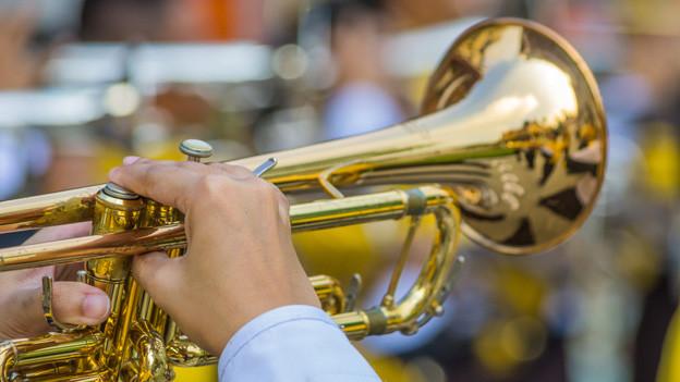 Ein Trompeter.