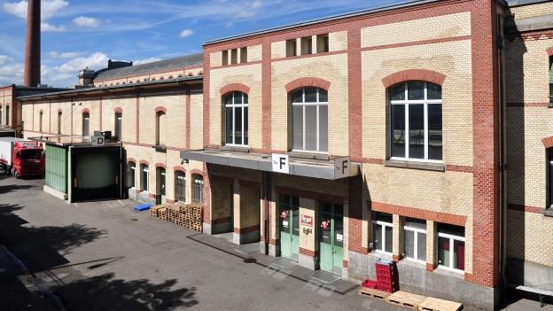 Städtischer Schlachthof in Zürich-Aussersihl (Schweiz).
