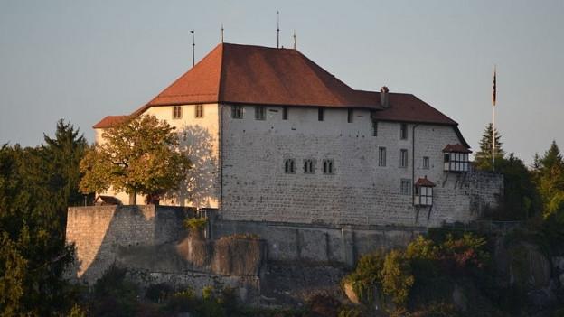 Das Schloss Laupen, 2011.