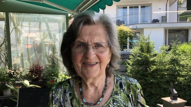 Porträt von Betli Stählin-Tschanz