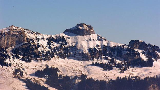 Winterliche Berglandschaft.
