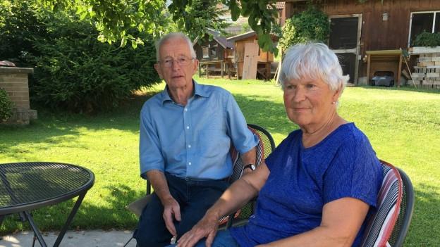 Leo und seine Frau Lina Meier.