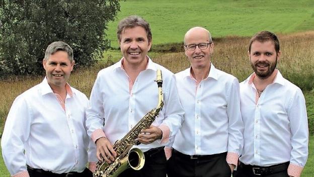 Die vier Mitglieder der Kapelle René Jakober.