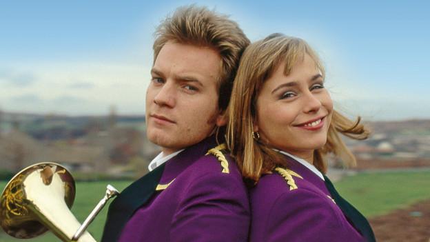 «Brassed Off» mit Ewan McGregor als Andy und Tara Fitzgerald als Gloria.