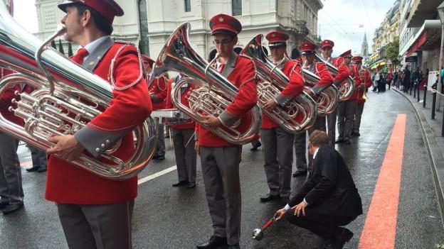 An einem Eidgenössischen Musikfest wird nichts dem Zufall überlassen. Erinnerungen an das letzte Eidgenössische Musikfest in Montreux 2016.