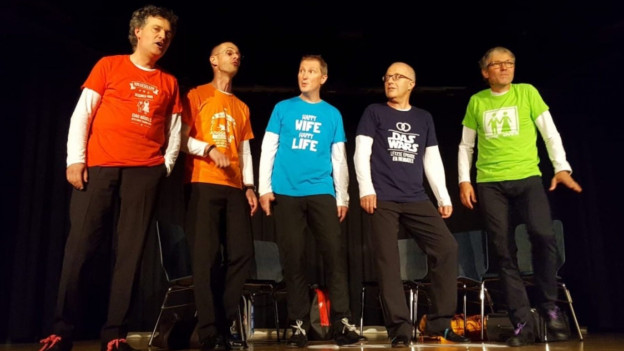 Die Freiburger a capella-Formation aGsang.