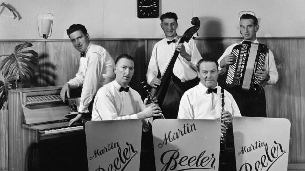 Ländler Musikgruppe Martin Beeler.