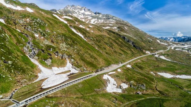 Der Gotthard-Tunnel.