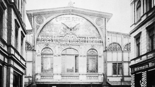 Ehemaliges Circus-Renz-Gebäude in Berlin (1898).