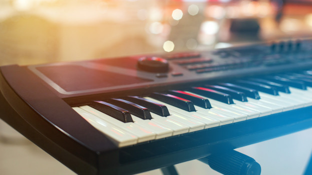 Ein Keyboard.