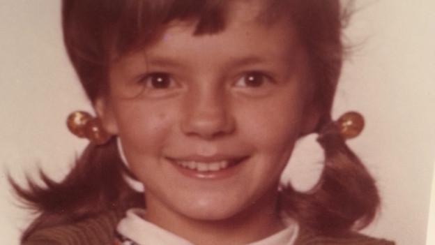 Porträt von Constanze Frei in Kindesalter.