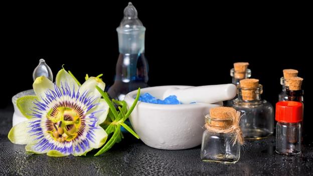 Passionsblume und Arznei