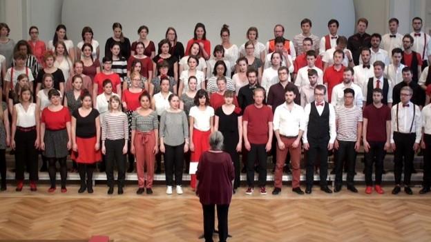 Chor Basel am singen.
