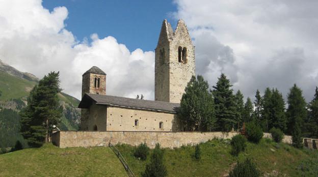 Sagenumwoben: San Gian bei Celerina.