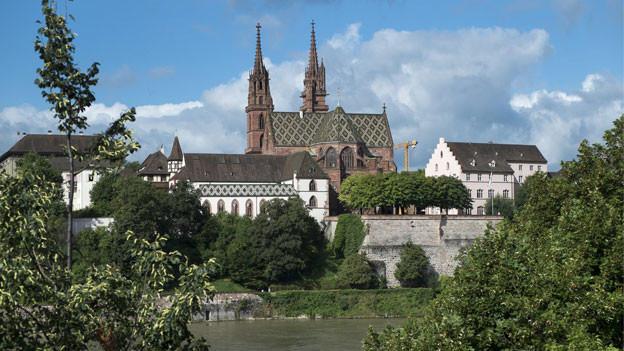 Basel: Blick aufs Münster.