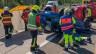 Diese Unfallübung brauchte die Polizei als «Gafferfalle».
