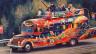 Der amerikanische Schriftsteller Ken Kesey reiste mit dem Künstlerkollektiv und Proto-Hippies «Merry Pranksters» in einem angemalten Schulbus durch die USA und veranstaltete LSD-Happenings. Immer mit an Board: Die amerikanische Rockband The Grateful Dead, die den perfekten Soundtrack für diese LSD-Happenings lieferten.