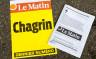 Der Kioskaushang zur letzten gedruckten Ausgabe von «Le Matin».