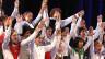Der Coro Calicantus Locarno 2009 am Schweizer Kinder- und Jugendchorfestival in Schaffhausen.
