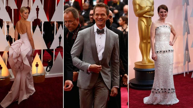 Die Stars und ihr Style auf dem roten OscarTeppich